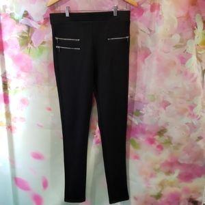 Stretch Skinny Leg Dress Pants